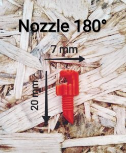 Nozzle Jet 180 Degree